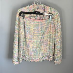 ESCADA Full Women's Outfit (jacket,tank top,skirt)